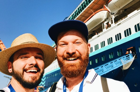 Let the Gay Cruise 2017 begin! © CoupleofMen.com
