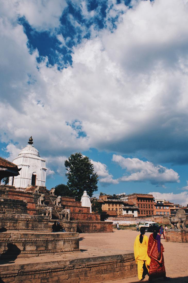 Beautiful moment walking around Bhaktapur | Gay Travel Nepal Photo Story Himalayas © Coupleofmen.com