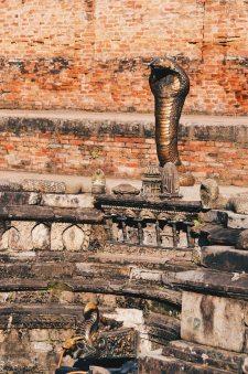 "Fountain ""Nag Pokhari"" statue of a cobra Bhaktapur | Gay Travel Nepal Photo Story Himalayas © Coupleofmen.com"
