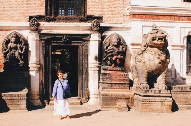 Royal Palace of Bhaktapur | Gay Travel Nepal Photo Story Himalayas © Coupleofmen.com