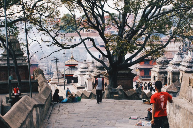 Temple complex Pashupatinath | Gay Travel Nepal Photo Story Himalayas © Coupleofmen.com