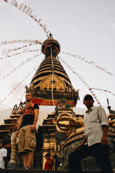 What a view over Kathmandu from Swayambhunath | Gay Travel Nepal Photo Story Himalayas © Coupleofmen.com