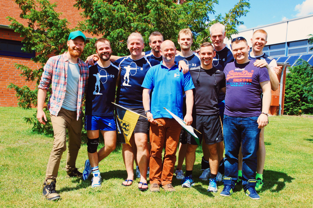 Join us for the Gay & Lesbian Volleyball Tournament Goldelsen-Cup Berlin 2017