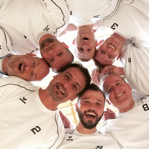 Karl and his Team EuroGames Helsinki 2016 | Gay Travel Berlin Goldelsen-Cup Volleyball Tournament © CoupleofMen.com