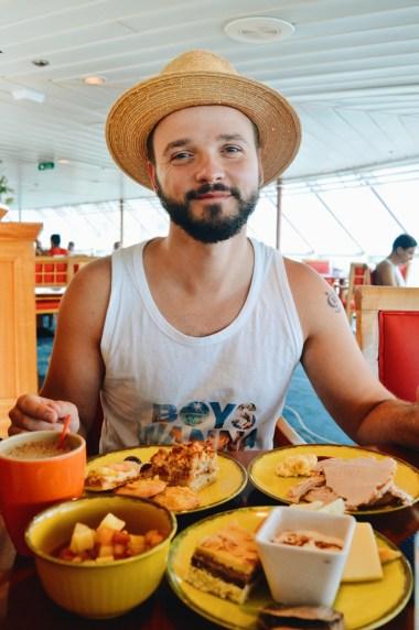 Karl and his morning coffee © CoupleofMen.com