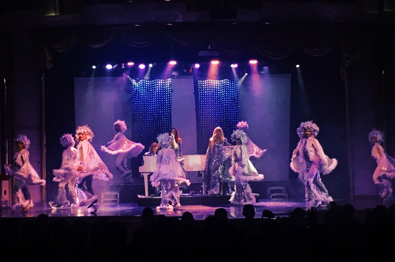 ABBA Show onboard the Monarch © CoupleofMen.com