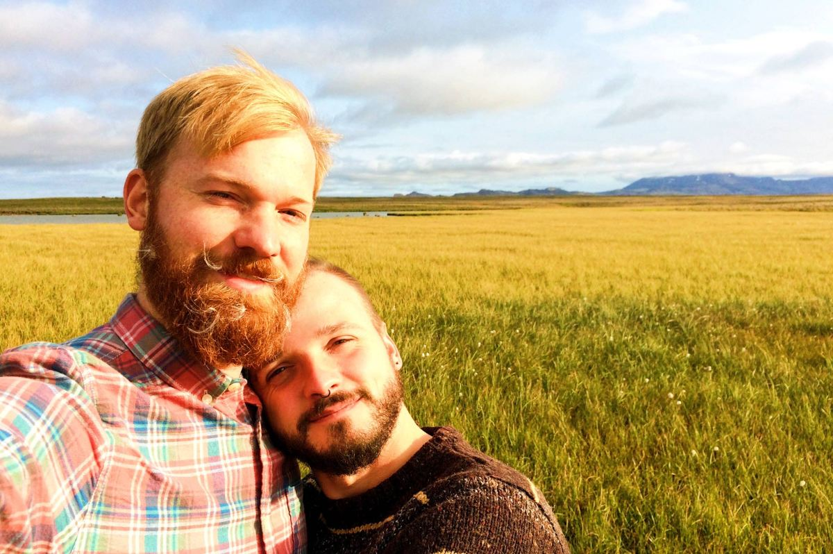 Iceland's Golden Circle: Gay Couple Road Trip 2