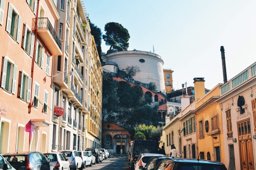 View over the castle hill of the City of Nice - Gay Couple City Weekend Nice © CoupleofMen.com