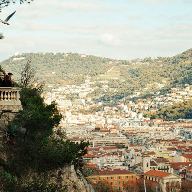 Gay Couple Travel France City Weekend Nice View over the harbor of the City of Nice - Gay Couple City Weekend Nice © CoupleofMen.com