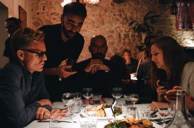 "Dinner ""Chez Acchiardo"" Italian Restaurant in Nice © CoupleofMen.com"