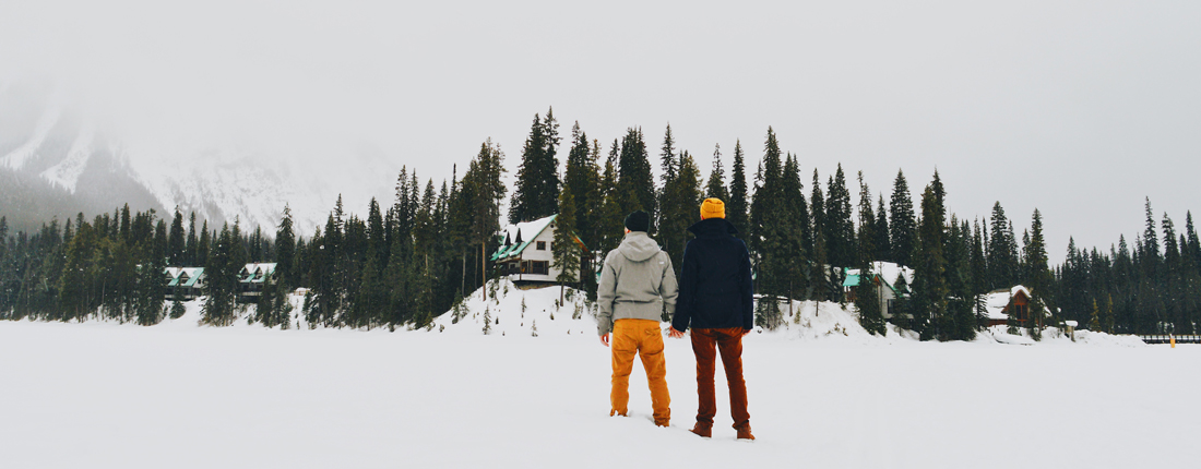Gay Travel Gay Couple Emerald Lake Lodge Yoho National Park British Columbia Canada © Coupleofmen.com