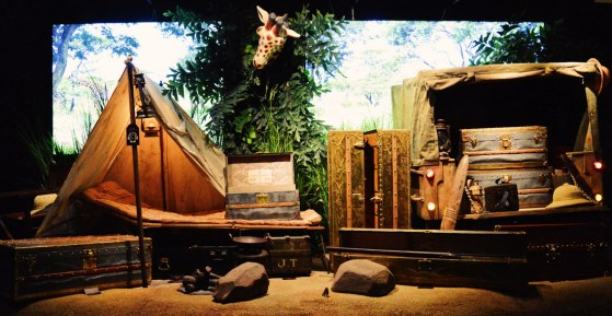 Unexpected visitors | Legendary Trunks Exhibition Amsterdam © Coupleofmen.com