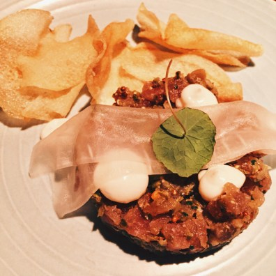 Tuna Tartare at Wildebeest | Gay-friendly Restaurants Vancouver © Eamonn
