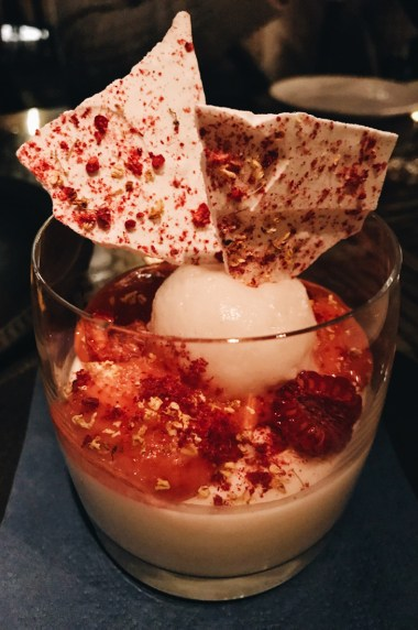 And another Sweet dessert creation at Mott 32 | Gay-friendly Restaurants Vancouver © Coupleofmen.com