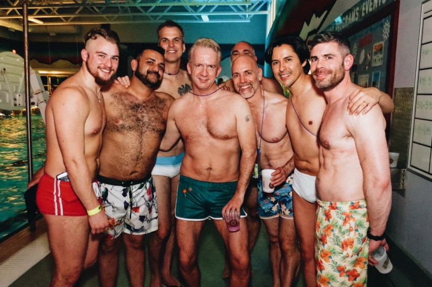 Sexy Men for all tasts | Whistler Pride 2018 Gay Ski Week © Steve Polyak