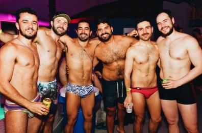 Sexy Gay Men, bears, otters and cubs   Whistler Pride 2018 Gay Ski Week © Steve Polyak