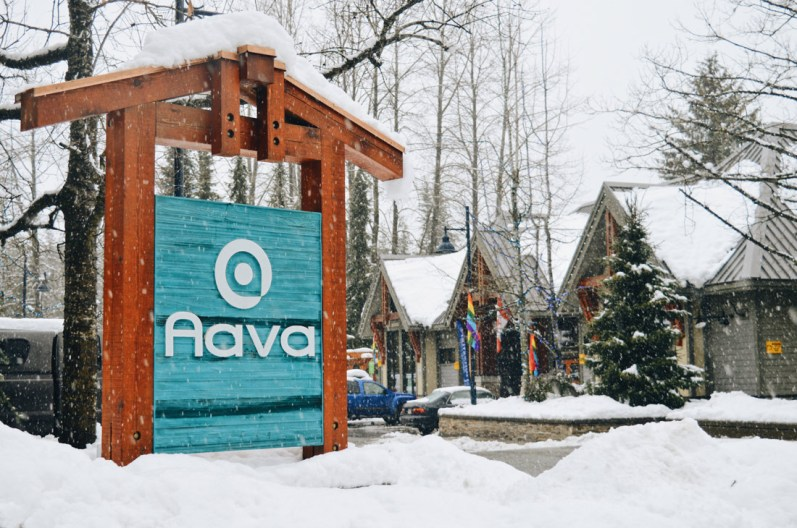 Welcome to the Aava Hotel | Whistler Pride 2018 Gay Ski Week © Coupleofmen.com