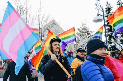 Pride for everyone - queer, gay lesbian trans   Whistler Pride 2018 Gay Ski Week © Coupleofmen.com