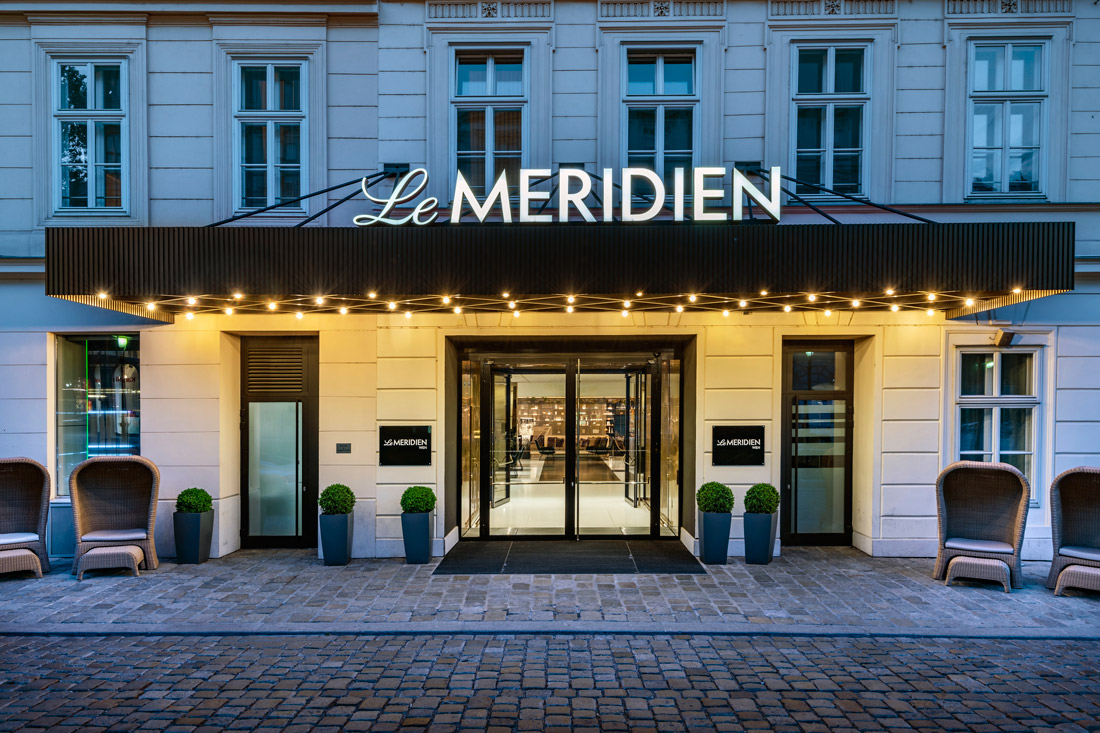 Staying at Le Méridien official Proud Partner of Life Ball | The 25th Life Ball Vienna Austria © Le Méridien Vienna