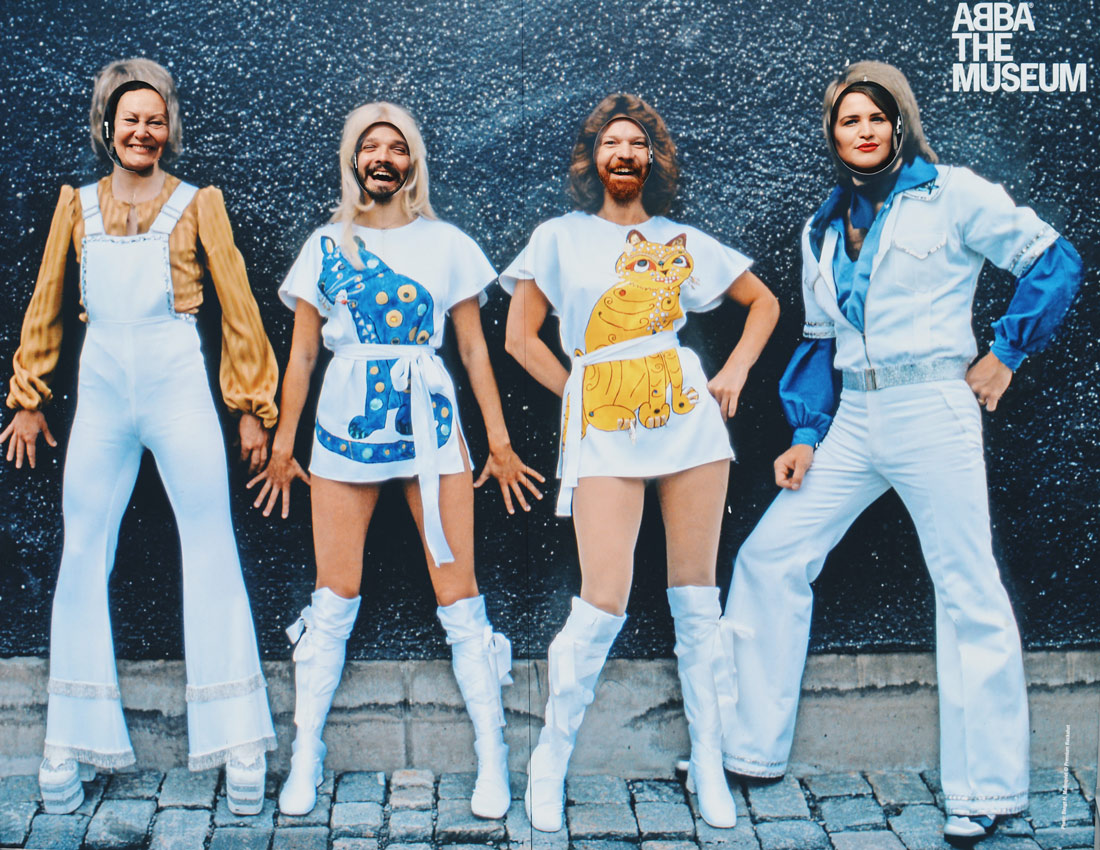 A must do for ABBA fans: a selfie with the ABBA band   Gay Travel Tips for EuroPride 2018 Stockholm © Coupleofmen.com
