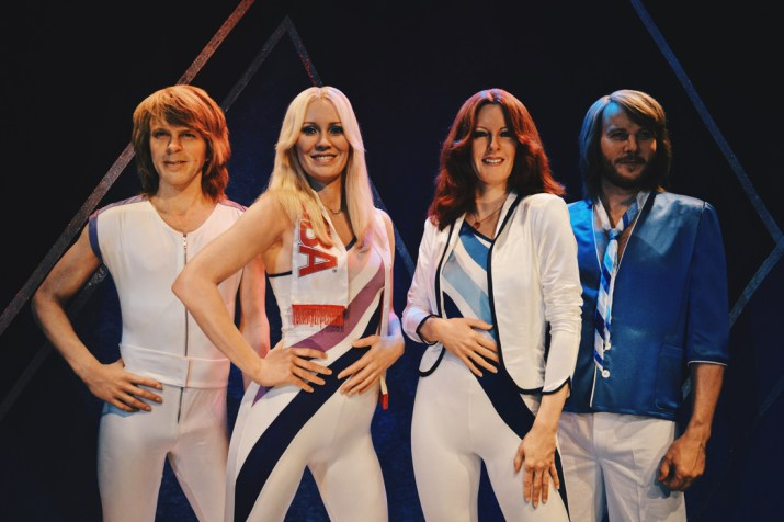 The lifesize ABBA figures look so real! | Gay Travel Tips for EuroPride 2018 Stockholm © Coupleofmen.com