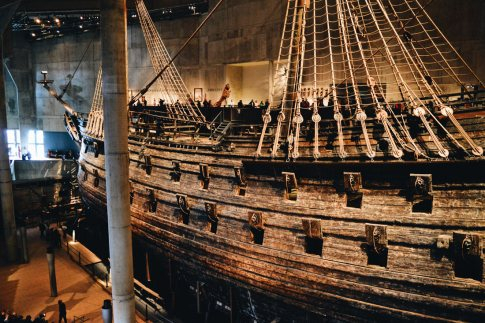 Vasa Ship is already 390 years old | Gay Travel Tips for EuroPride 2018 Stockholm © Coupleofmen.com