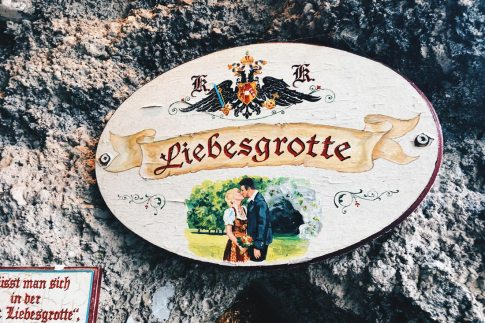 "Gay Städtetrip Salzburg Just go in and give a kiss at love grotto called ""Liebesgrotte"" 