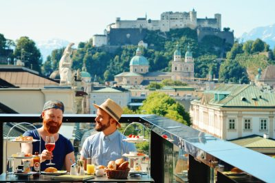 Gay-friendly City Trip Salzburg Gay Städtetrip Salzburg Gay Städtetrip Salzburg Salzburg Gay Couple City Trip | All LGBT travelers need to know for a gay-friendly trip to the Mozart city Salzburg in Austria © Coupleofmen.com