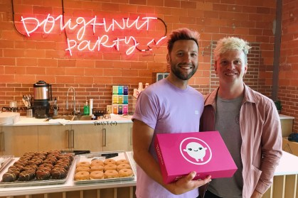 Gay Owned Doughnut Party - The best doughnuts in town | Gay Edmonton Pride Festival © Coupleofmen.com