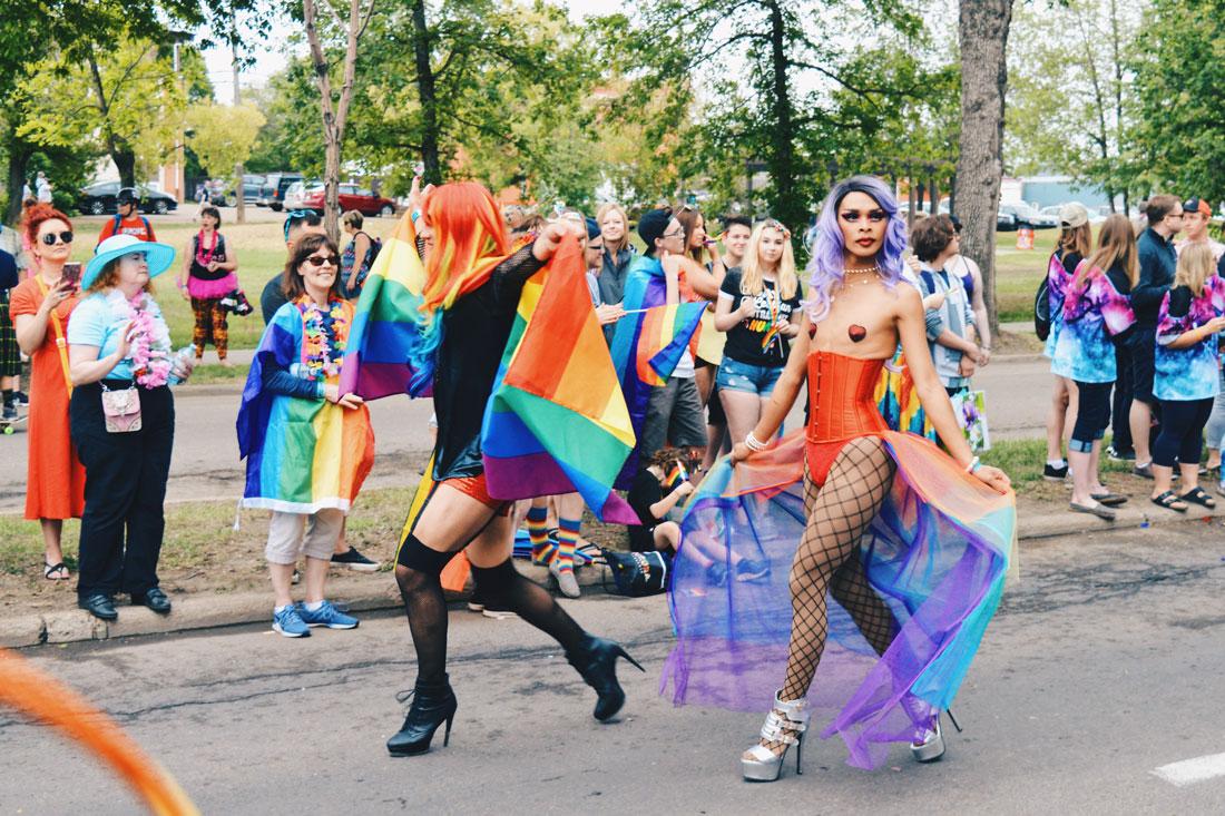 Gay Pride Parade Edmonton Canada Happy Pride for every LGBTQ2S+ | Gay Edmonton Pride Festival © Coupleofmen.com