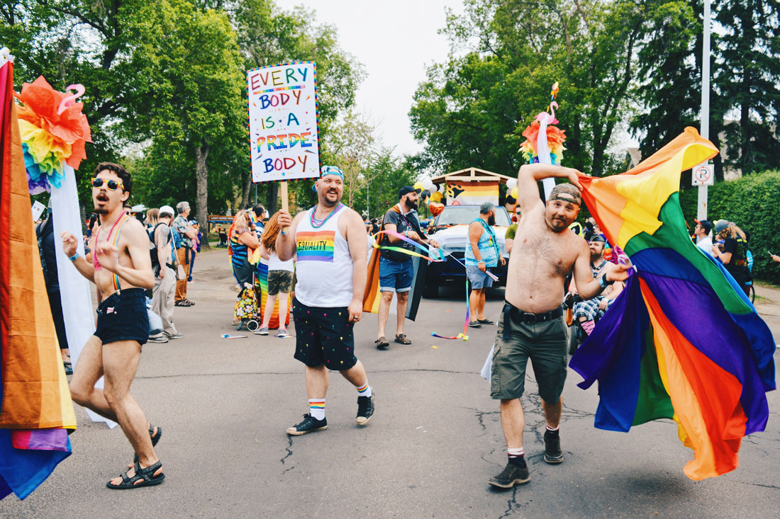 Every Body is a Pride Body - Bears Edmonton | Gay Edmonton Pride Festival © Coupleofmen.com