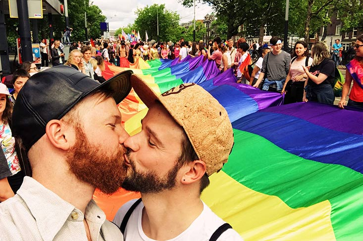 Program, Highlights, Tips for (Gay) Pride Amsterdam © CoupleofMen.com