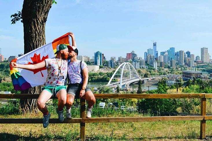 Gay Edmonton Pride Festival 2018 © Coupleofmen.com