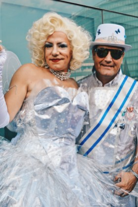 Beautiful and funny Drag Queens with their Kings | CSD Berlin Gay Pride 2018 © Coupleofmen.com