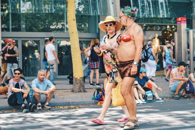 Tropical temperatures of more than 31 degrees celcius did not stop anyone | CSD Berlin Gay Pride 2018 © Coupleofmen.com