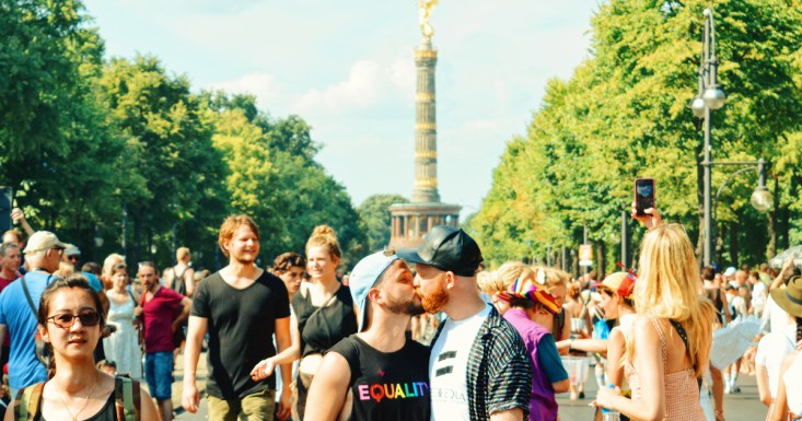 CSD Berlin Gay Pride 2018 Spartacus Gay Travel Index 2019 © Coupleofmen.com