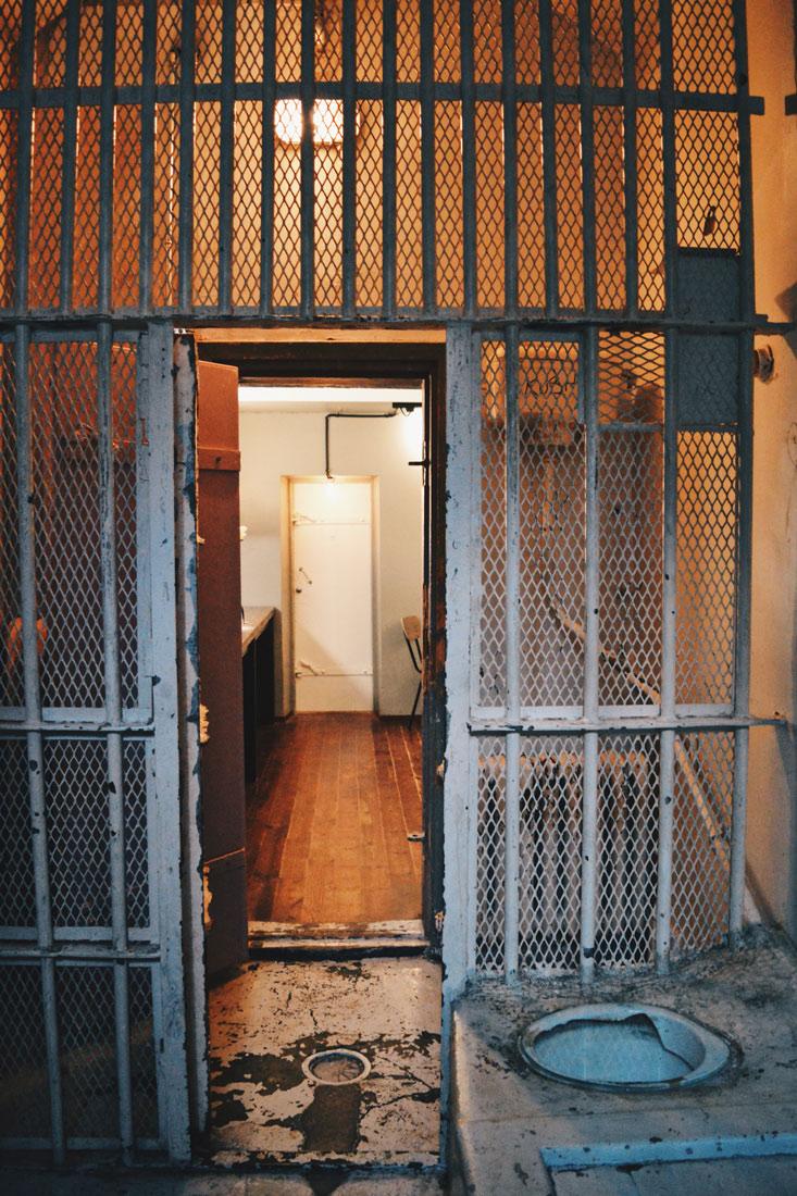 That's how the historical jail cells look like | Katajanokka Hotel Helsinki Gay-friendly Review © Coupleofmen.com
