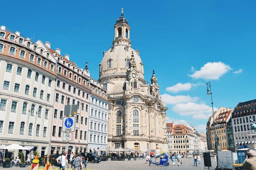 Dresden Frauenkirche on the Neumarkt after the reconstruction © Coupleofmen.com