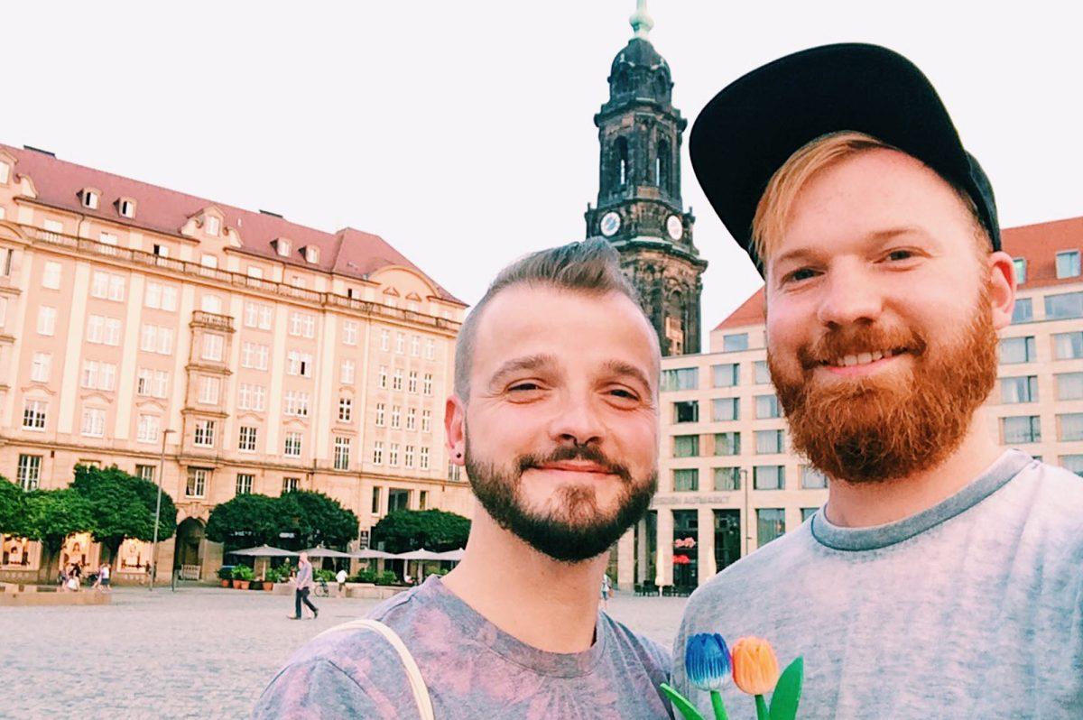 Gay Travel Germany | Gay Couple City Weekend Dresden © CoupleofMen.com