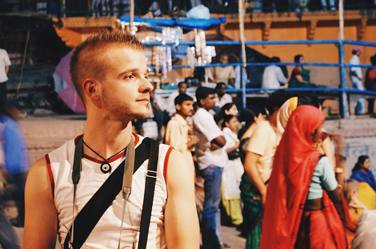 Gay Travel India: Karl's Backpack Trip in 2008 | Part 1
