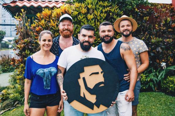 Meeting our friends Jason and Bryan from Bearded Man | Gay-friendly Costa Rica © Coupleofmen.com