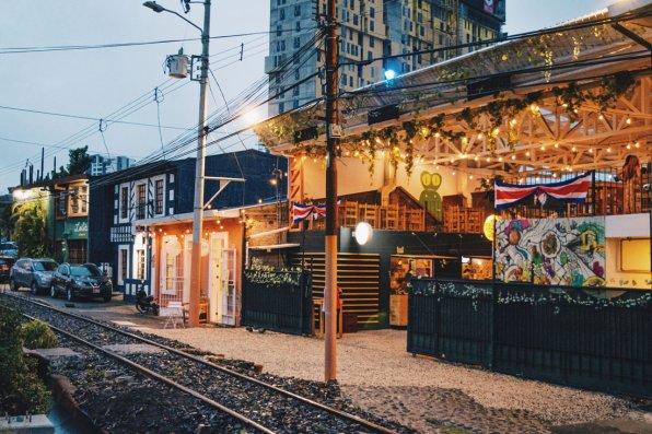 Gay Travel Journal Costa Rica Our favorite dinner place El Jardin de Lolita at the Escalante neighborhood | Gay-friendly Costa Rica © Coupleofmen.com