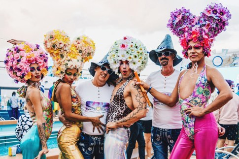Chic in the Mix: Every costume is the right costume on board! | Gay Cruise by Open Sea Cruises x Axel © Coupleofmen.com