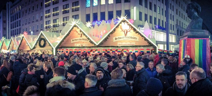 Gay Weihnachtsmärkte Deutschland Pink Monday Düsseldorf | Gay Christmas Markets 2018 in Germany © Metropol events GmbH