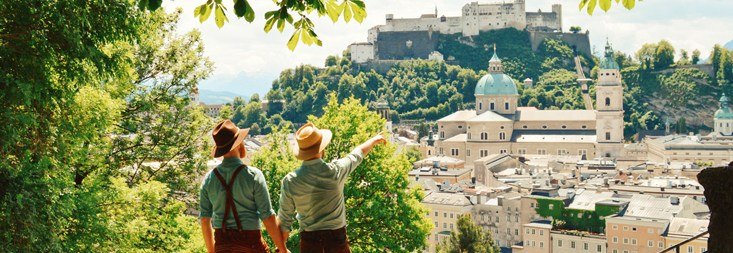 Spartacus Gay Travel Index 2019 Same-Sex Marriage Austria Lederhosen Tips Traditional Austrian Garments © CoupleofMen.com