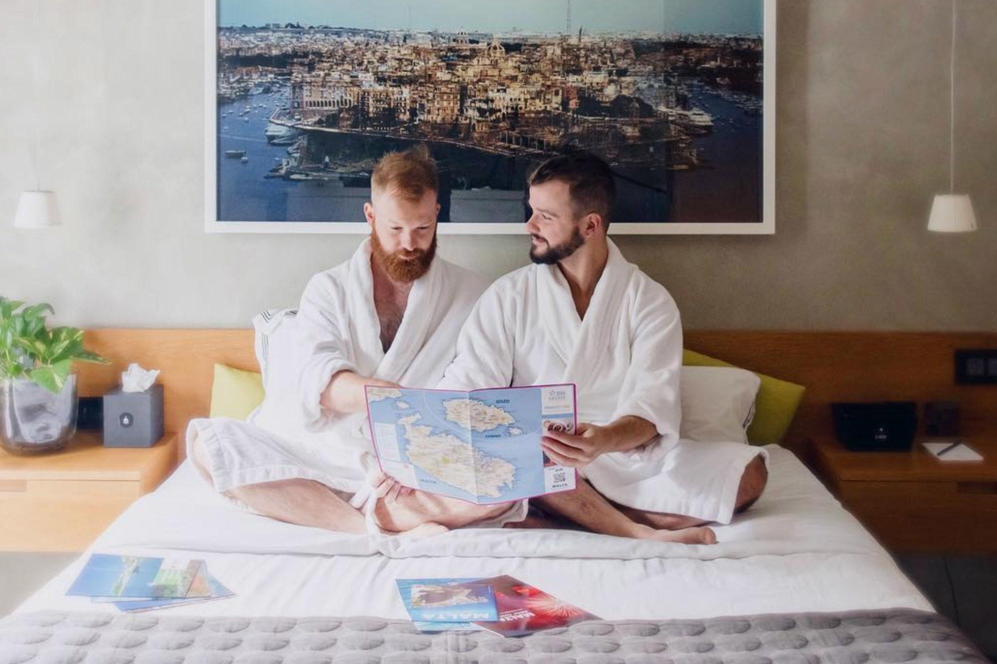 """stern.de interview Stern Interview: Couple of Men über """"Schwulenfreundliche Reisetipps"""""""