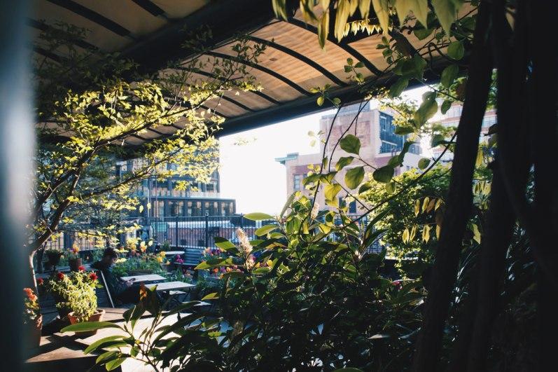 Gay Reise New York Dinner overlooking the rooftops of Chelsea, Manhattan | New York City for World Pride 2019 © Coupleofmen.com