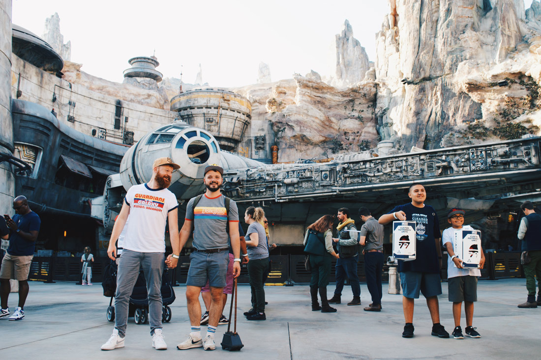 The Star Wars Land Popcorn Tray Mousedroid