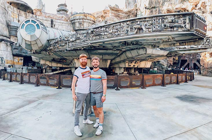 Star Wars: Galaxy's Edge in Disneyland California
