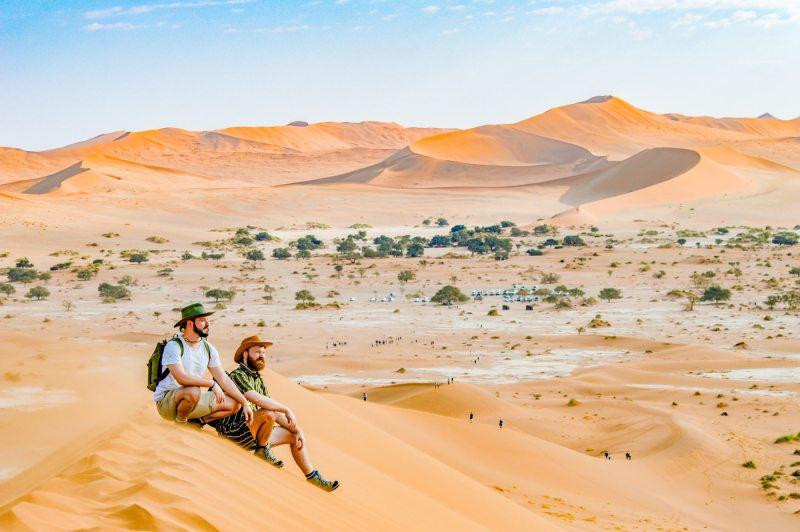 Sossusvlei Dunes Namib Desert